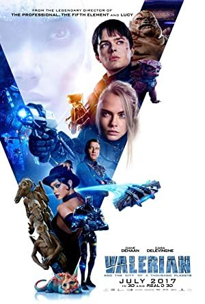 Valerian and the City of a Thousand Planets online sa prevodom
