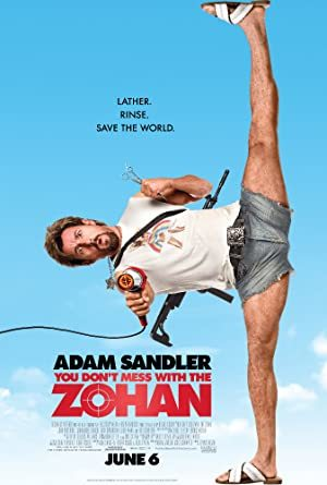 You Don't Mess with the Zohan online sa prevodom
