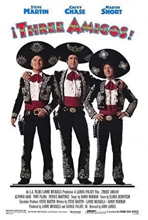 ¡Three Amigos! online sa prevodom